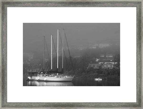 Raft Up Framed Print