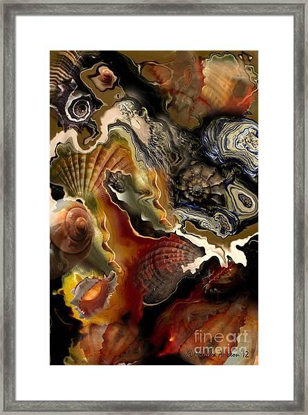 Ragged Shores Framed Print