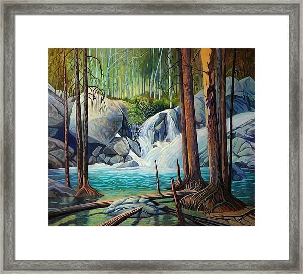 Raging Solitude Framed Print