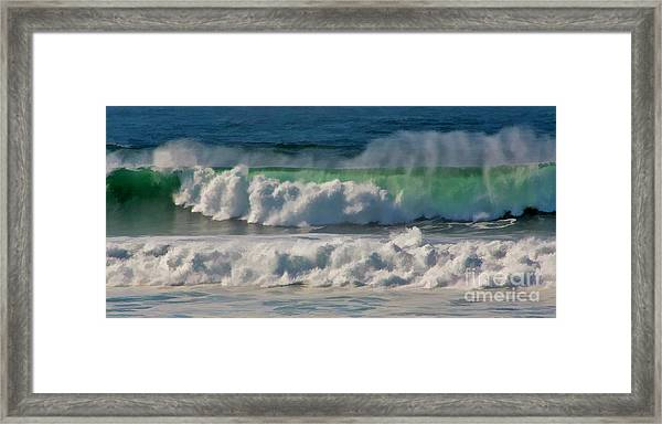 Raging Waters Framed Print