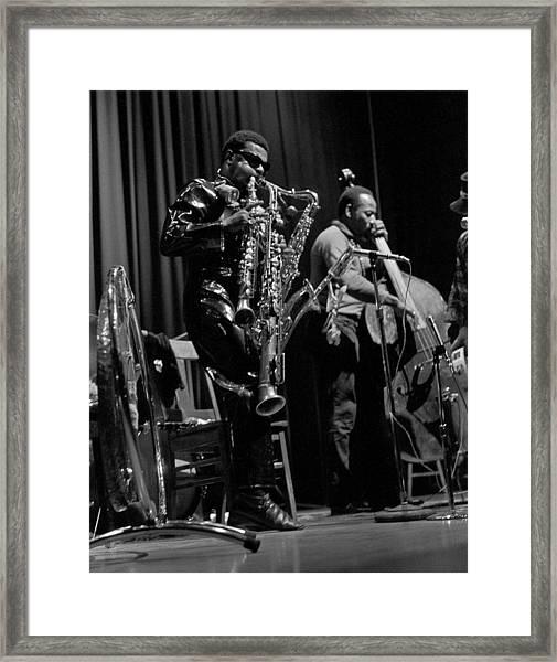 Rahsaan Roland Kirk 1 Framed Print