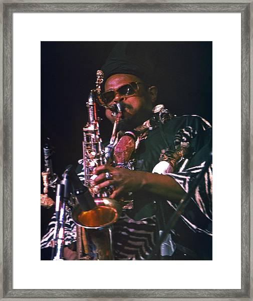 Rahsaan Roland Kirk 4 Framed Print