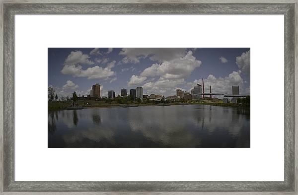 Railroad Park View Framed Print