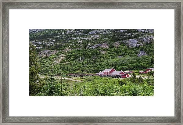 Railroad To The Yukon Framed Print