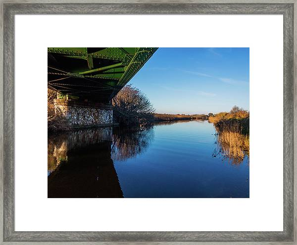 Railway Bridge Framed Print