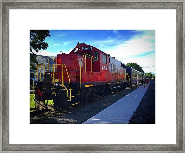 Blue Ridge Railway Framed Print