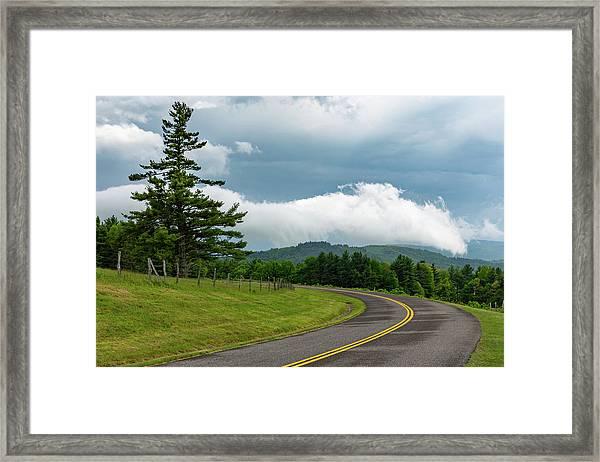 Rain Ahead Framed Print by Jim Neal