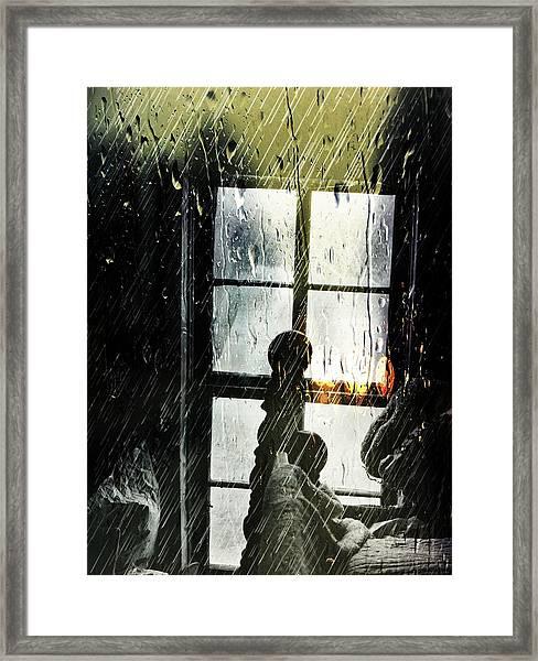 Rain In My Heart Framed Print