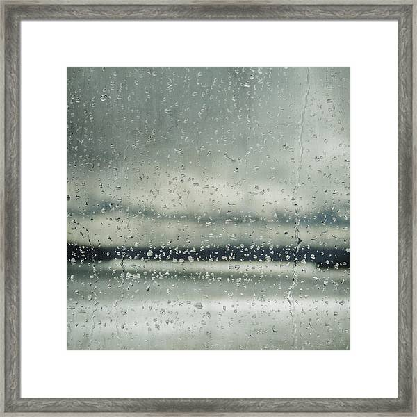Rain Layers Framed Print