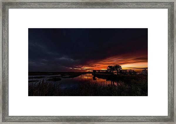 Rain Or Shine -  Framed Print