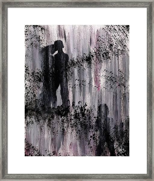 Rain Swept Framed Print
