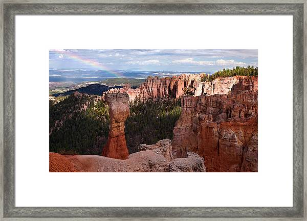 Rainbow Bryce Canyon Framed Print