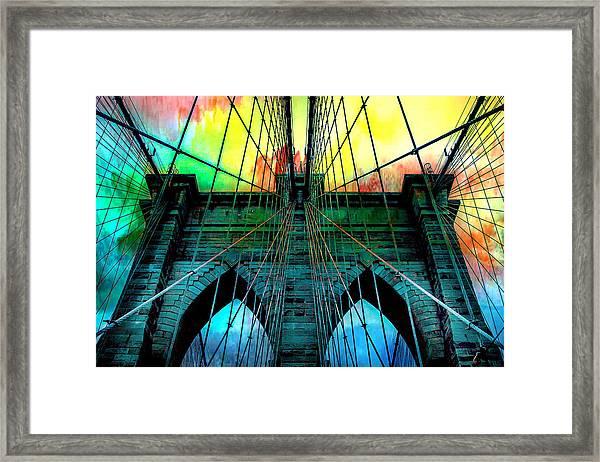 Rainbow Ceiling  Framed Print