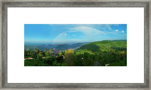 Rainbow Dream Framed Print