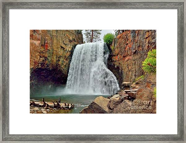 Rainbow Falls 10 Framed Print
