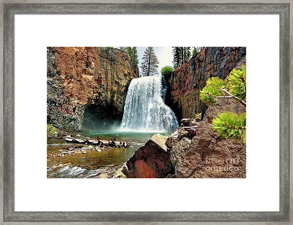 Rainbow Falls 15 Framed Print