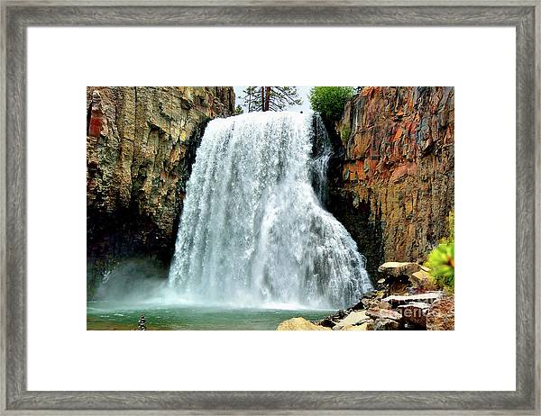 Rainbow Falls 16 Framed Print