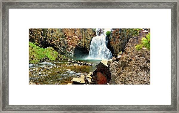 Rainbow Falls 2 Framed Print