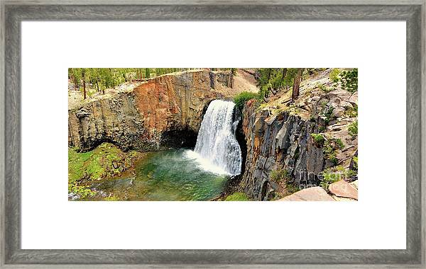 Rainbow Falls 3 Framed Print