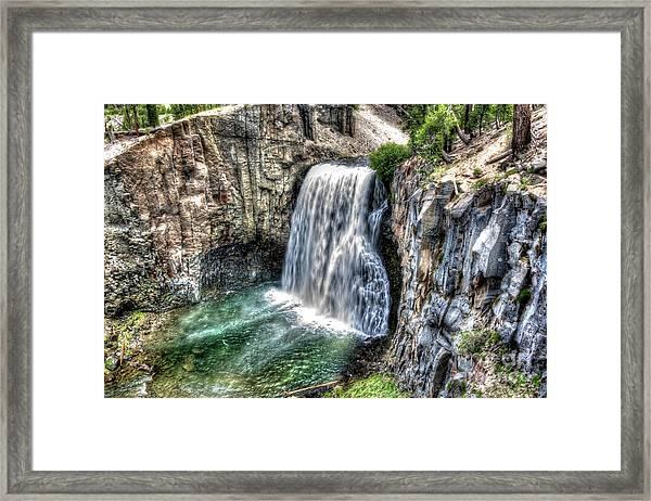 Rainbow Falls 5 Framed Print