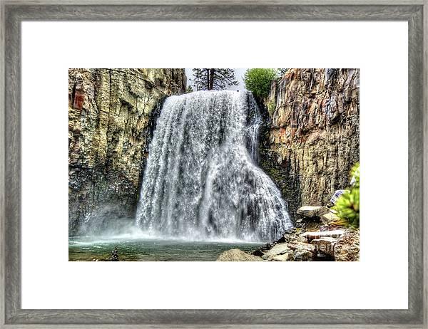 Rainbow Falls 7 Framed Print