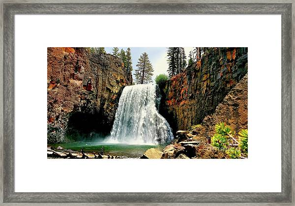 Rainbow Falls 8 Framed Print