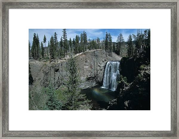 Rainbow Falls California Framed Print