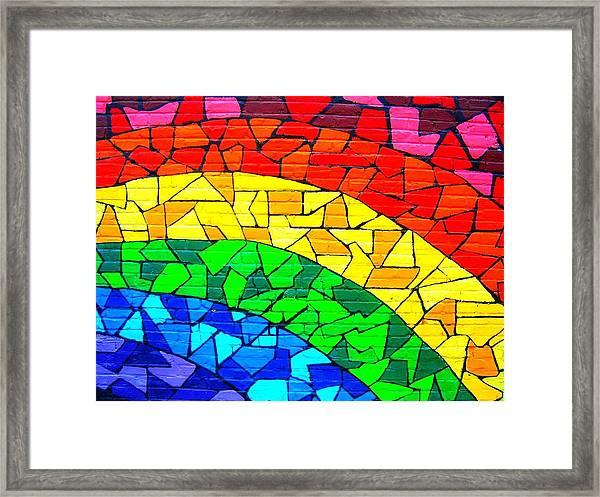 Rainbow ... Framed Print