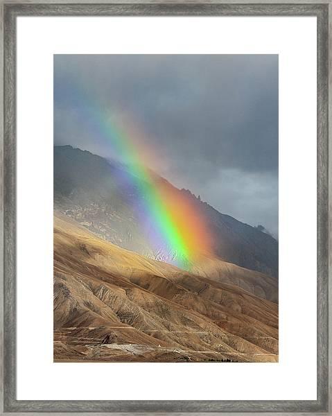 Rainbow, Kaza, 2008 Framed Print