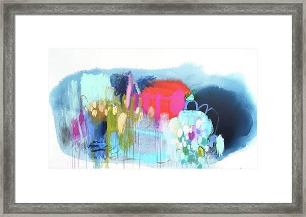 Rainbow Ride Framed Print