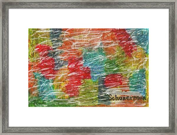 Rainbow Sparkle Framed Print