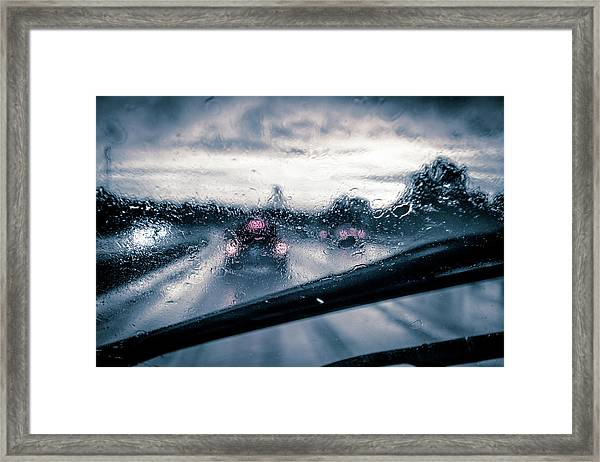 Rainy Day In July Framed Print