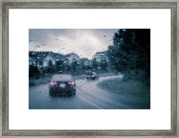 Rainy Day In June Framed Print