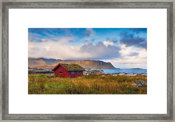Ramberg Hut Framed Print