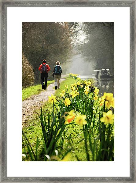 Rambling On Framed Print