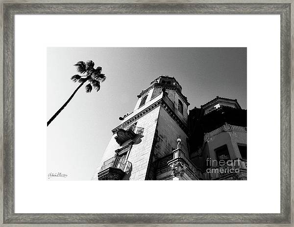 California Castle Framed Print