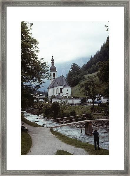 Ramsau Church Framed Print
