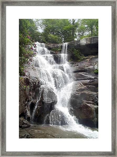 Ramsay Cascade Smoky Mountains National Park Framed Print
