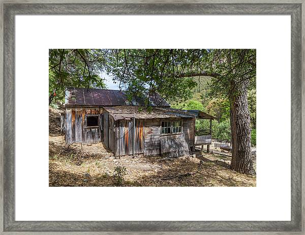 Ramsey Canyon Cabin Framed Print