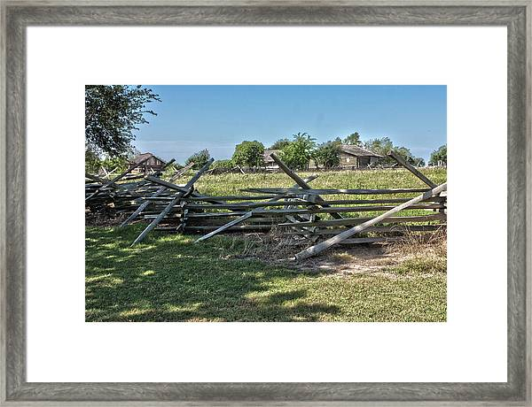 Ranch View1 Framed Print