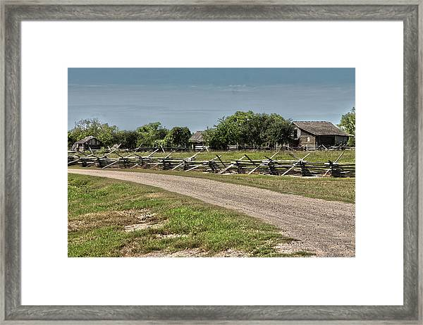 Ranch View3 Framed Print