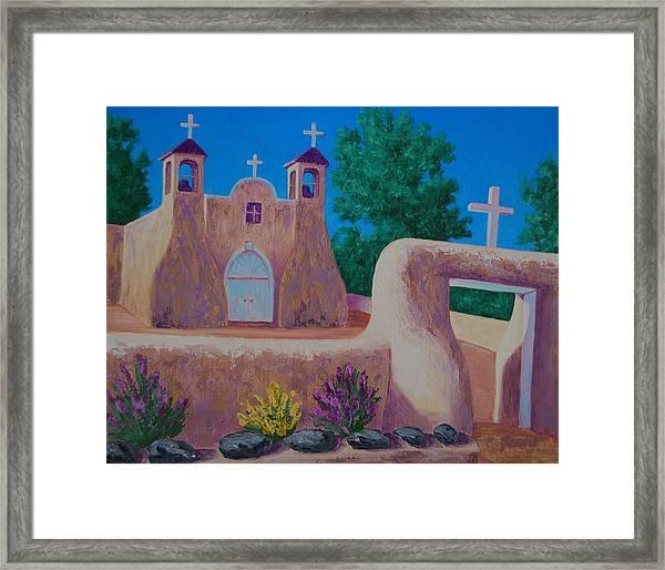 Rancho De Taos II Framed Print