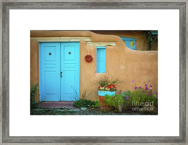 Rancho De Taos Framed Print