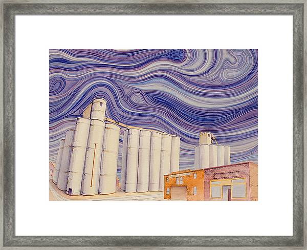 Framed Print featuring the painting Randall by Scott Kirby