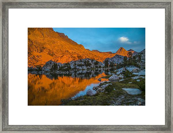Range Of Light Framed Print
