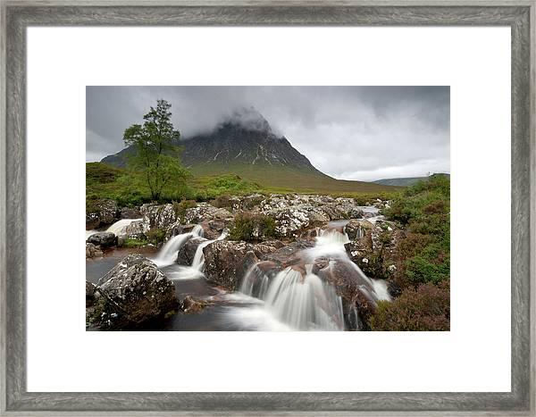 Rannoch Moor Landscape Glencoe Landscape Framed Print