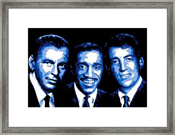 Ratpack Framed Print