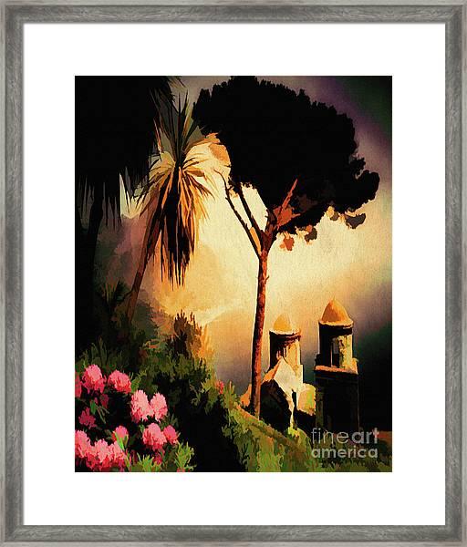 Ravello Framed Print