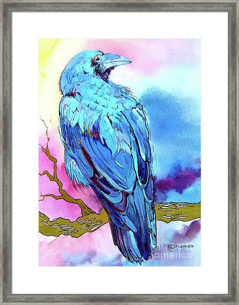 Raven's Sight Framed Print