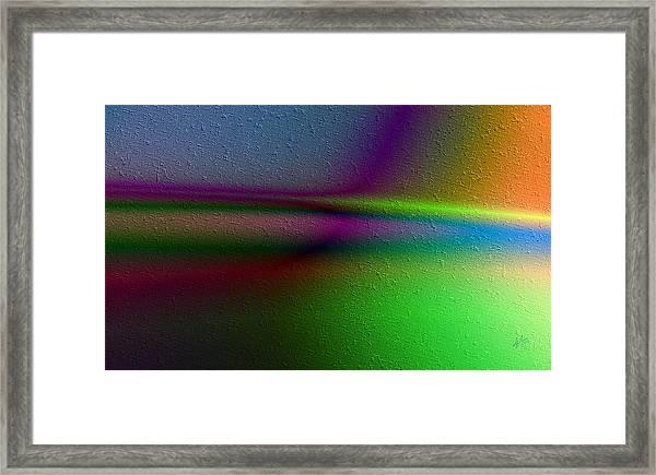Rayos Tranquilos Framed Print